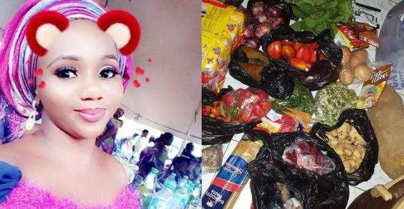 Nigerian Lady Reveals One Of The Qualities Of A Wife Material Shows Off The Items She Bought With %E2%82%A6970