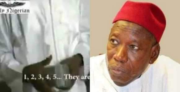 Another Video Of Governor Ganduje Receiving Bribe Emerges