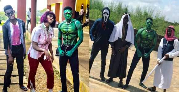 FUNAAB Students Celebrate Halloween In Style Photos