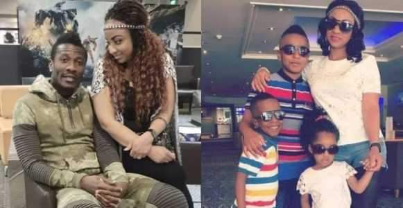 Footballer Asamoah Gyan Files For Divorce Demands DNA Test To Prove Hes The Father Of Their Children