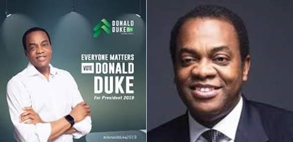 I Made N5.6m In Three Years Presidential Candidate Donald Duke
