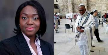 See What Presidential aspirant Eunice Atuejide Said about Nnadmi Kanu's re-emergence in Israel