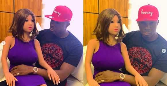 Lagos Socialite Pretty Mike Buys Himself A Sex Doll As Birthday Gift PhotosVideo