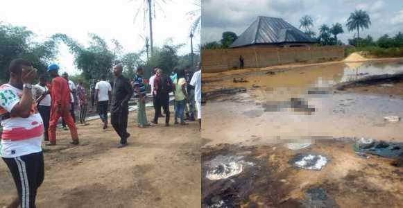 Pipeline Explosion Kills Over 100 People Many Houses Burned Down In Osisioma Abia State