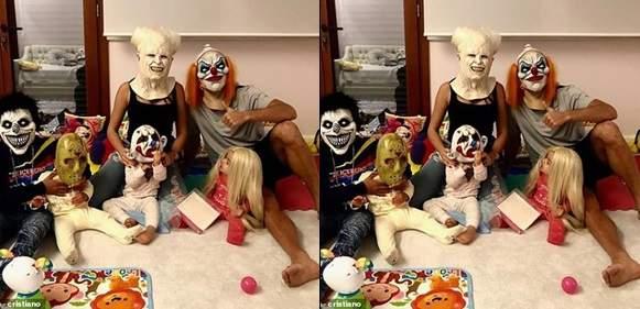Ronaldo Halloween Tile