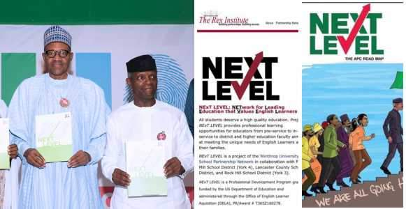 President Buhari Accused Of Stealing %E2%80%98Next Level%E2%80%99 Plan From Rex Institute