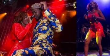 'You my Champion boy, I love you' - Simi appreciates her boo Adekunle Gold for his support at her London concert