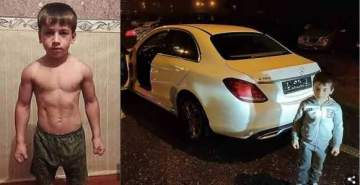 5-year-old boy gets Mercedes Benz for doing non-stop 4,105 push-ups in 2 hours (Photos)