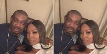 """""""I Was Starstruck""""- Don Jazzy Says On His Night Out with Naomi Campbell"""
