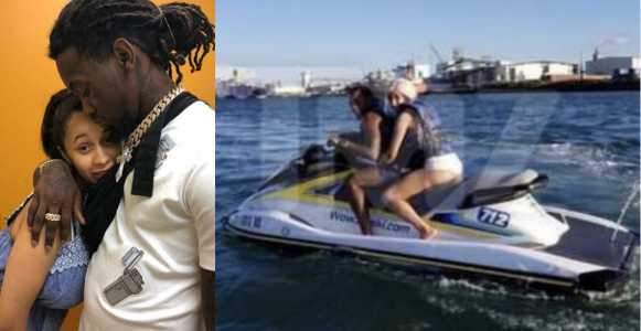 Cardi B And Offset Look Very Much Like A Couple As They Vacation In Puerto Rico