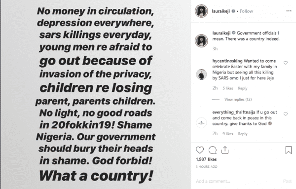 No Money In Circulation Laura Ikeji Blasts Government Lailasnews 2