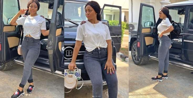 Actress Regina Daniels Takes Delivery Of Her New Brabus Photos