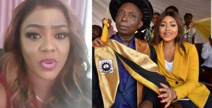Helen Paul Reacts To Regina Daniels Marriage To Billionaire Ned Nwoko