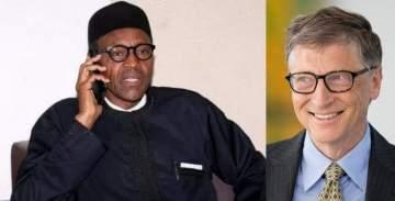 'We will not fail Nigerians' - President Buhari tells Bill Gates