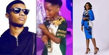 Wizkid's son entertains his mum's birthday guests with his legwork
