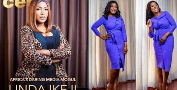 Linda Ikeji Stuns As She Covers Business Day Magazine