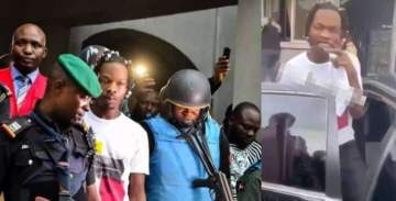 Naira Marley allegedly released on bail (Video)