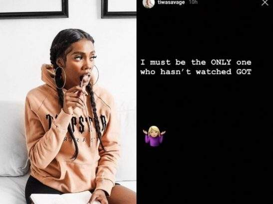 Tiwa Savage Says She Has Never Seen Game Of Thrones