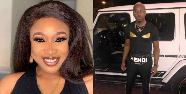 Tonto Dikeh Reacts Pretty Mike Shares Tips On How Not To Be A 40 Seconds Man