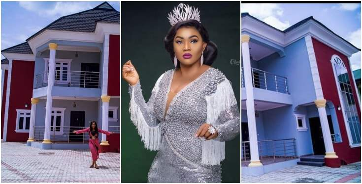 Mercy Aigbe reacts to rumuor about her mansion being on rent
