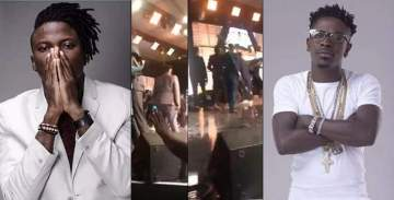 """""""I reacted """"out of natural instincts""""-Stonebwoy Apologizes for Pulling a Gun on Shatta Wale at VGMAs"""