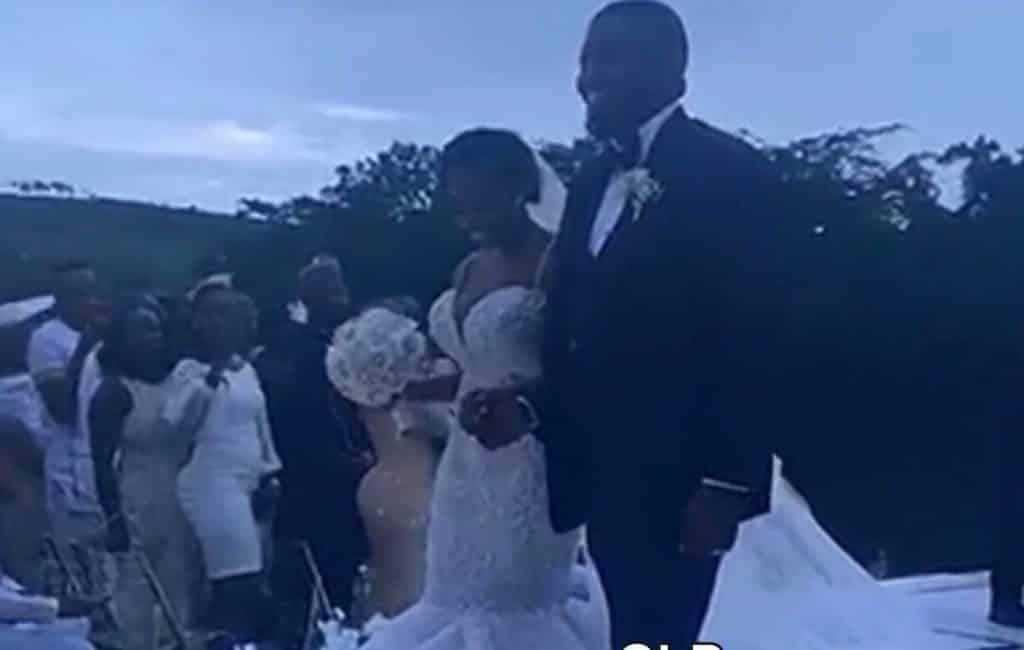 John Dumelo Wife Wedding Pictures E1557609198813