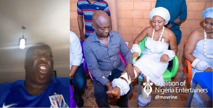 Actor Charles Awurum Warns Newly Wed Regina Daniels On The Repercussion Of Meeting Another Man
