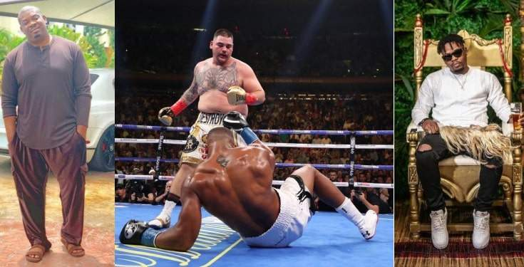 Don Jazzy Olamide Other Celebrities React To Anthony Joshua Shocking Defeat