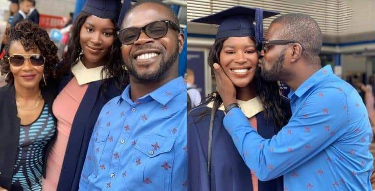 JJC Skillz%E2%80%99 Daughter Graduates From UK University Photos