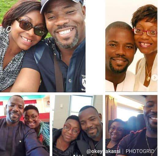 Okey Bakassi Celebrates 18th Wedding Anniversary With His Wife 1