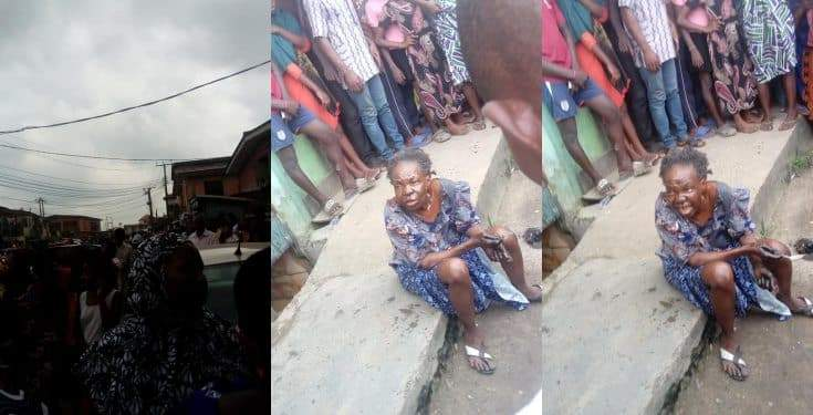Bird Allegedly Turns Into An Old Woman In Lagos Video