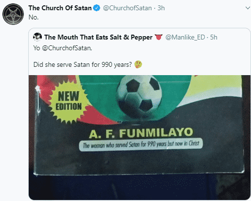 Church Of Satan Reacts To Woman Who Said She Served Satan For 990 Years 3