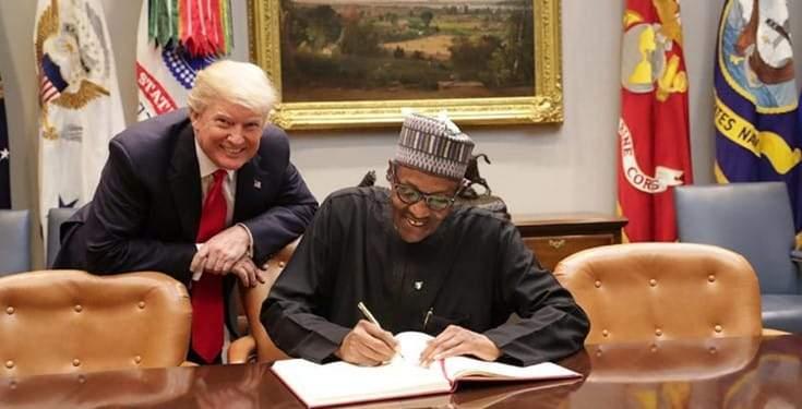 Donald Trump Writes To President Buhari