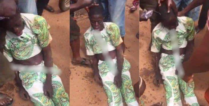Drama As Man Loses Consciousness After Being Slapped With A Charm Video