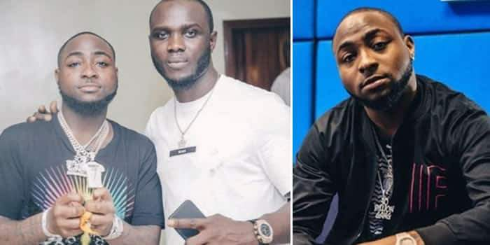 Davido Sends His Crew Member Out Of His House After A Bitter Clash