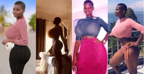 Meet 22 Year Old Ghanaian Model With Extra Ordinary Hourglass Shape