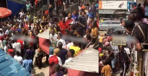 Bride In Tears As She Chases Groom After Being Dumped At The Altar In Delta State Video