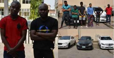 Expensive Cars Recovered From 10 Yahoo Boys & Girls In Abuja (Photos)