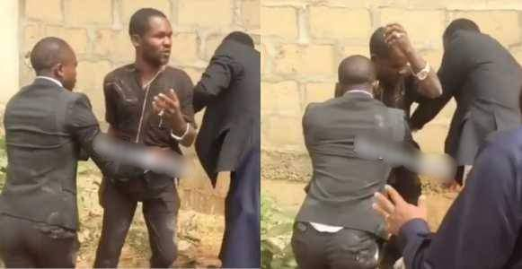 Pastor Catches Man Trying To Steal Tithe During Church Service In Asaba Video