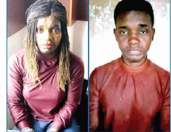 Man Disguises As Female Prostitute To Defraud Men In Lagos 1