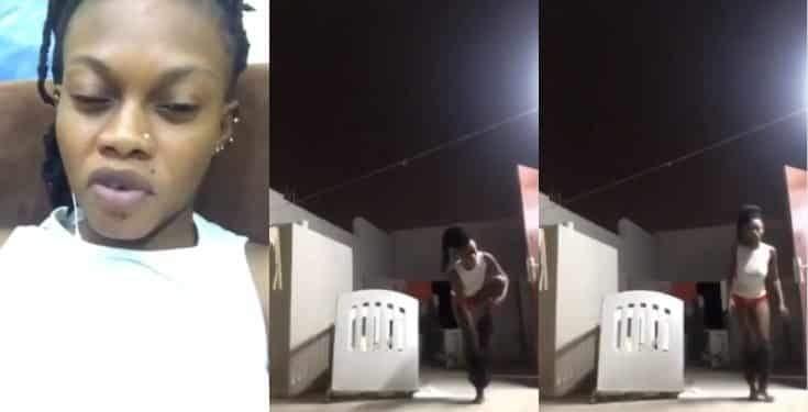 Lady Strips On Facebook Live To Curse Her Ex Boyfriend Video