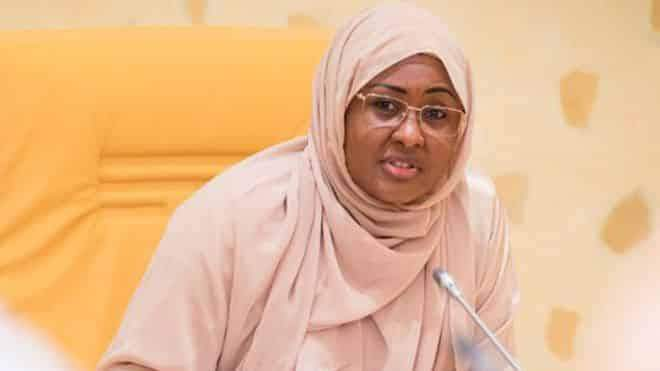 Aisha Buhari gives reason for her long absence from Aso Rock