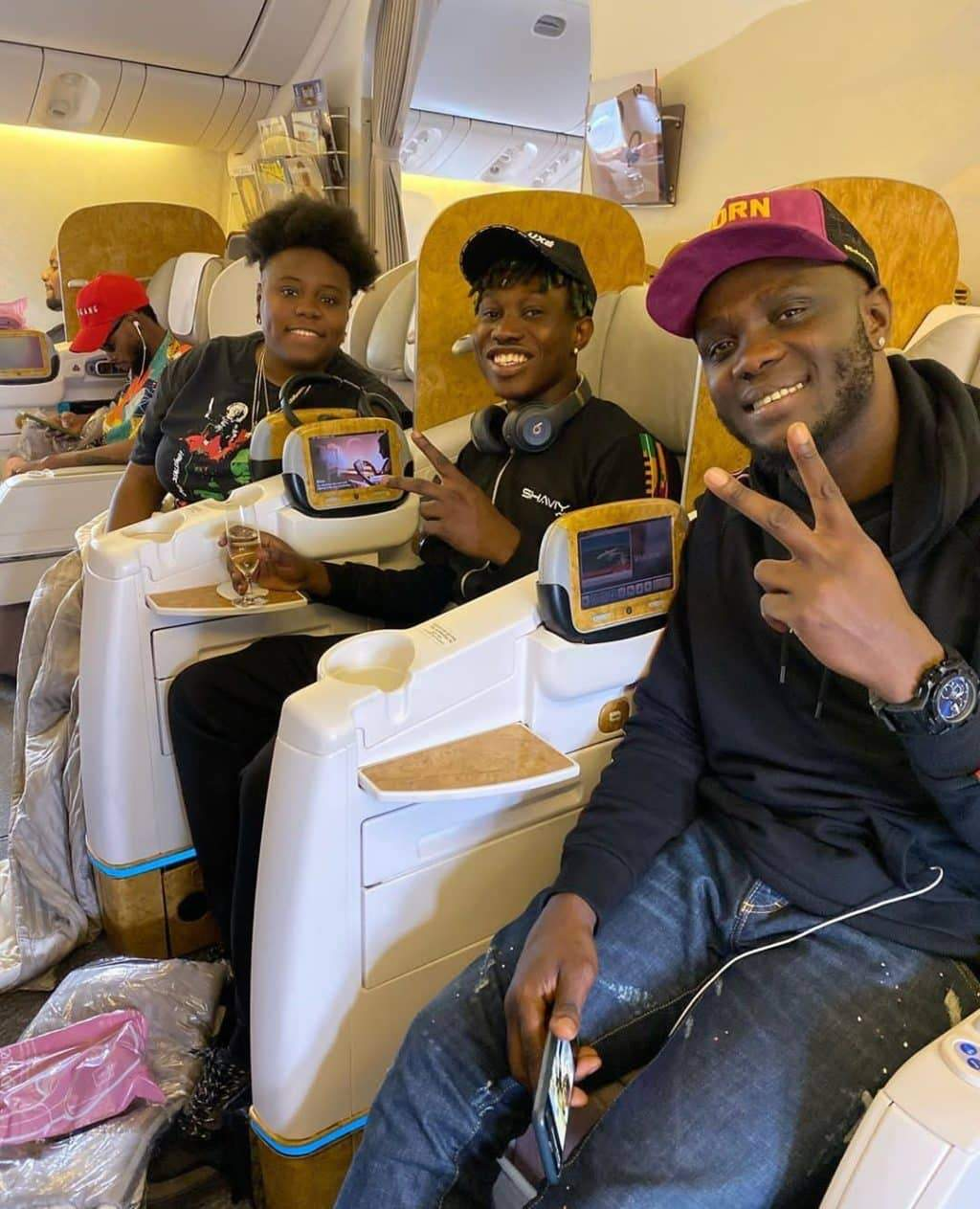 Rapper, Zlatan Ibile jets out to Dubai with Teni
