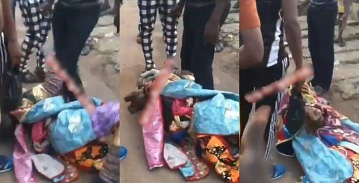 Masquerade Lands In Trouble After Beating A Soldier In Mufti In Lagos