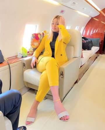 Regina Daniels new photo with billionaire hubby, Ned Nwoko sparks pregnancy debate