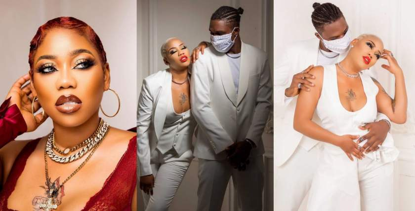 Toyin Lawani unveils her new man as they get set to tie the knot (photos)