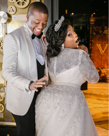 """You are the only one I want to annoy for the rest of my life"" - Toolz celebrates 4th wedding anniversary with husband"