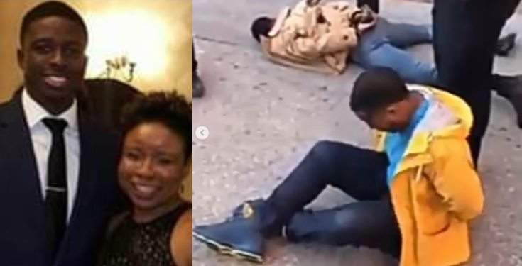 Nigerian Mother Cries Out For Justice After American Police Tased Her Son Until He Was Unconscious Video