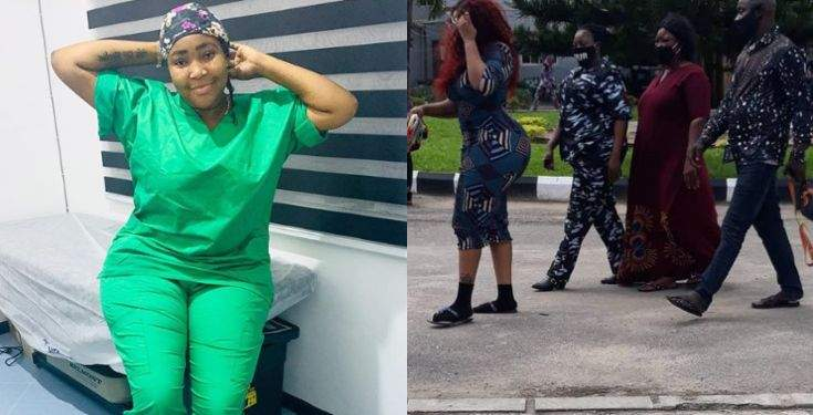 Doctor Anu arrested and charged to Court over failed cosmetic surgery that led to the death of her patient (Photos)