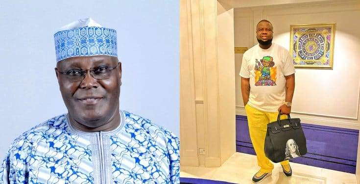 Former Vice President Atiku Abubakar Distances Self From Hushpuppi